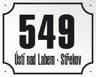 Ústí nad Labem - evidenční