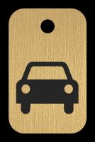 Klíčenka s obrázkem auta