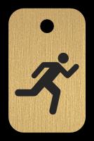 Klíčenka s obrázkem běžce