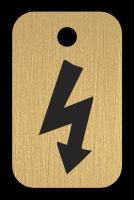 Klíčenka - blesk, elektřina