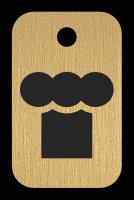 Klíčenka - kuchařská čepice