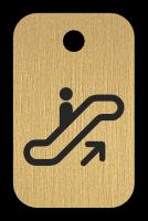 Klíčenka - eskalátor
