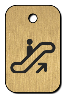 Klíčenka s obrázkem eskalátoru