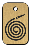 Klíčenka s obrázkem hadice