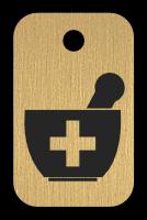 Klíčenka s obrázkem hmoždíře