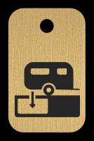 Klíčenka s obrázkem karavanu