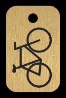 Klíčenka s obrázkem jízního kola