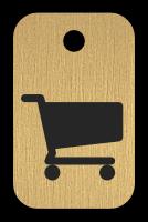 Klíčenka s obrázkem košíku