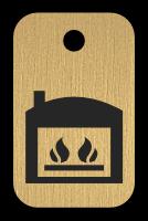 Klíčenka s obrázkem kotle