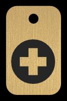 Klíčenka s obrázkem kříže