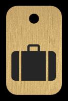 Klíčenka s obrázkem kufru