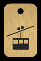 Klíčenka s obrázkem lanovky