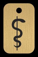 Klíčenka s obrázkem Aeskulapovi hole