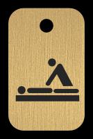 Klíčenka s obrázkem masaže