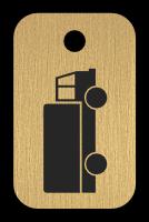 Klíčenka s obrázkem nájkladního auta