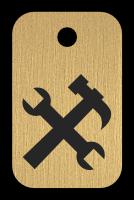 Klíčenka s obrázkem nářadí
