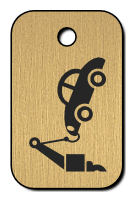 Klíčenka - odtahovka