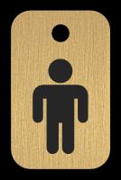 Klíčenka s obrázkem pána