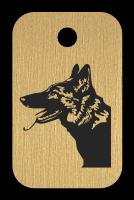 Klíčenka s obrázkem psa