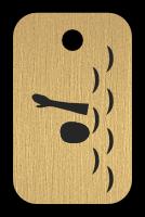 Klíčenka s obrázkem plavce