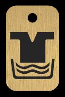 Klíčenka s obrázkem praní