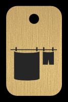 Klíčenka s obrázkem prádla