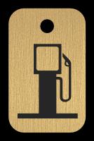 Klíčenka - benzínová pumpa