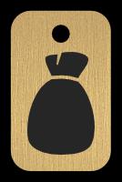 Klíčenka s obrázkem pytle