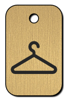 Klíčenka s obrázkem ramínka