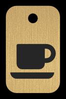 Klíčenka s obrázkem šálku