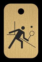 Klíčenka s obrázkem squashe