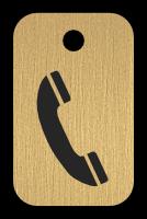 Klíčenka s obrázkem telefonu