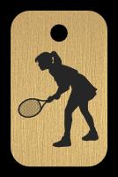 Klíčenka s obrázkem tenisu
