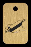 Klíčenka s obrázkem válečku