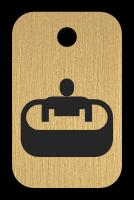 Klíčenka s obrázkem vířivka