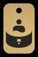 Klíčenka s obrázkem vířivky