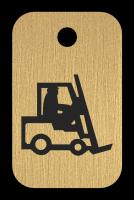 Klíčenka s obrázkem vozíku