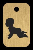 Klíčenka s obrázkem batolete