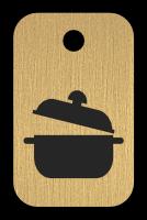 Klíčenka s obrázkem hrnce