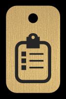 Klíčenka s obrázkem karty