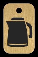 Klíčenka s obrázkem konvice