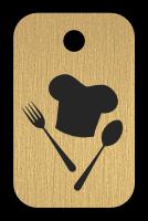 Klíčenka s obrázkem kuchar