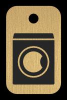 Klíčenka s obrázkem pračky