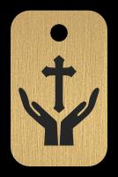 Klíčenka s obrázkem rukou