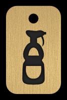 Klíčenka s obrázkem saponátu