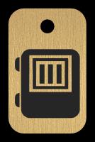 Klíčenka s obrázkem trezoru