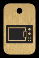 Klíčenka s obrázkem trouby