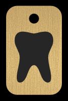 Klíčenka s obrázkem zubu