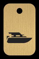 Klíčenka s obrázkem lodě