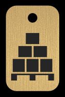 Klíčenka s obrázkem palety